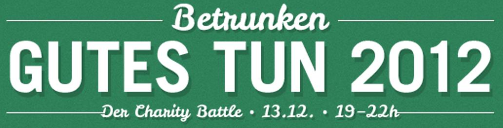 Recap Betrunken Gutes Tun 2012 in Münster