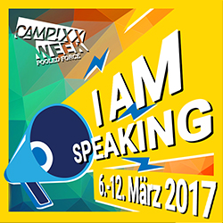 Stefan David: Hear me speak CAMPIXX 2017